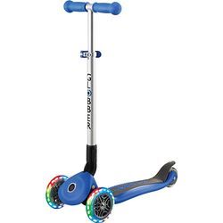 Scooter PRIMO FOLDABLE, Leuchtrollen, navi-blau