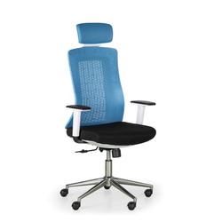 Bürostuhl eden, blau/weiß