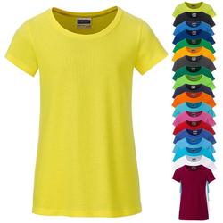T-Shirt für Mädchen | James & Nicholson