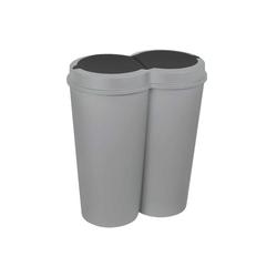 HTI-Living Mülleimer Abfalleimer 2x 25 L DUO BIN