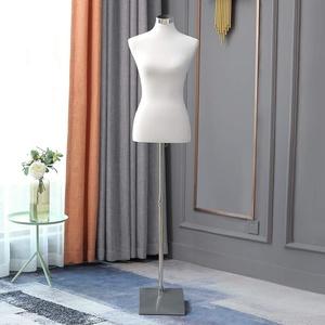 Loywe Schneiderpuppe Schaufensterpuppe Damenbüste Schneiderbüste kleiderpuppe Büste Torso Gr.36/38 (Damenbüste Weiß)