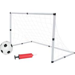 NSP Fußballtor-Set, inkl.Ball und Pump