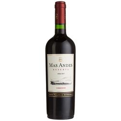 Mas Andes Reserva Carmenere Chilenischer trockener Rotwein 750 ml