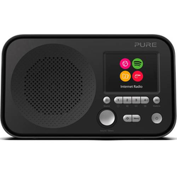 Pure Elan IR3 Internet Kofferradio AUX, WLAN, Internetradio Spotify Schwarz