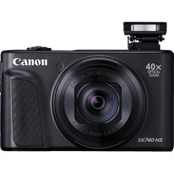 CANON PowerShot SX740 HS Digitalkamera Schwarz, 40fach opt. Zoom, LCD (TFT), WLAN