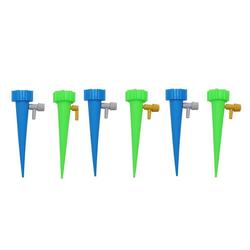 Masbekte Bewässerungssystem, (6-tlg), 6x Bewässerung Wasserspender für Zimmerpflanzen