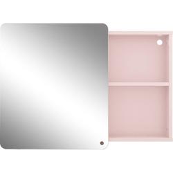 TOM TAILOR Spiegelschrank COLOR BATH mit Spiegel-Schiebetür, Breite 80 cm rosa