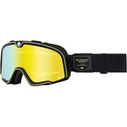 100% Barstow Caliber Motocross Brille, schwarz