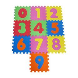 knorr® toys Puzzlematte Zahlen 0-9, 10 tlg.