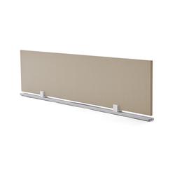 Schreibtisch-Trennwand braun, 38.5x180x2 cm