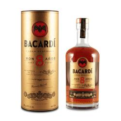 Bacardi 8 Años 0,7L (40% Vol.)