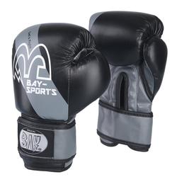 BAY-Sports Boxhandschuhe Mini Fighter Kinderboxhandschuhe Kinder grau 6 Unzen