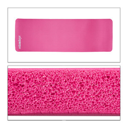 relaxdays   Yogamatte pink