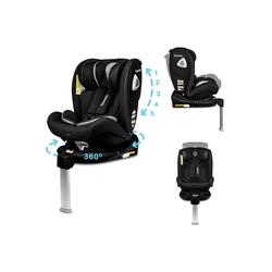 lionelo Autokindersitz Lionelo Braam Carbonoptik Kindersitz Isofix Basis und Stützfuß oder Autogurte Kindersitz Auto 0-36 kg Reboarder
