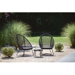 Niehoff Gartenmöbel Set Kuta 3-tlg. mit Beistelltisch
