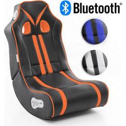 Wohnling Soundchair NINJA in 3 Farben mit Bluetooth Musiksessel mit Lautsprechern Multimediasessel