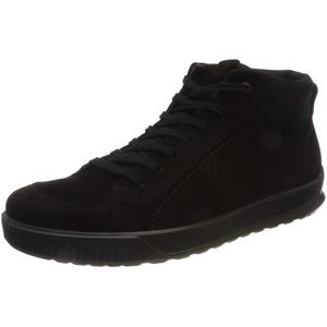 ECCO Herren Byway Savanna Textile Ankle Boot, Schwarz (Black/Black), 50 EU