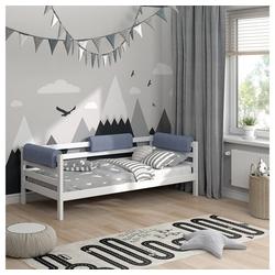 Bettumrandung Bettkantenschutz Kinderbett Kantenschutz grau Babybett VitaliSpa® grau