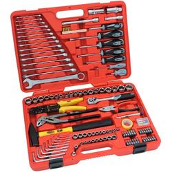 FAMEX Werkzeugset 136-29, (Set, 197-St), im Werkzeugkoffer