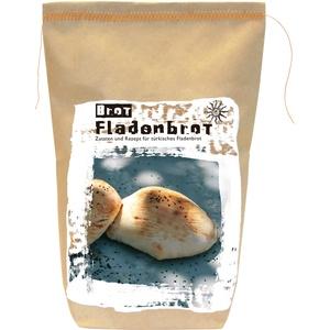 Brotbackmischung Fladenbrot – Gourmetbackmischung von Feuer & Glas (525g)