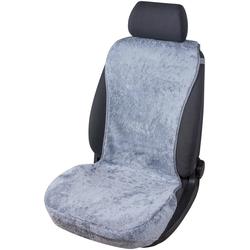 Walser Autositzauflage Lammfell grau, Set, aus Lammfell, grau