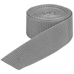 buttinette Taschengurtband, hellgrau, Breite: 4 cm, Länge: 3 m