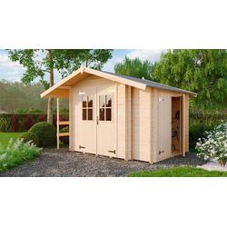 Nordic Holz Gartenhaus Narva 476, BxT: 380x289 cm