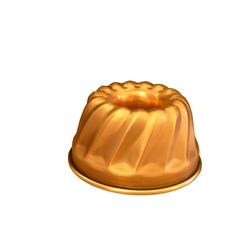 5001-16 Backform Gugelhupf Ø= 17 cm Kupfer massiv