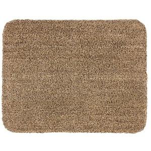 Astra Fußmatte Entra Saugaktiv 601075003 (Uni, Beige, 75 x 130 cm, Material Nutzschicht: 100 % Baumwolle)