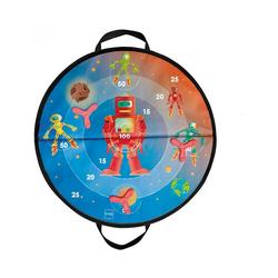 SCRATCH Dartscheibe Magnetische Zielscheibe Weltall