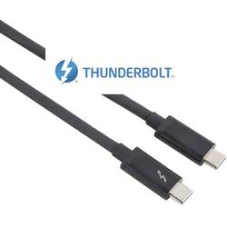 Hama Thunderbolt™ 3 Anschlusskabel [1x Thunderbolt™ 3 Stecker (USB-C™) - 1x Thunderbolt™ 3 S