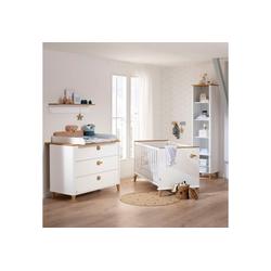 PAIDI Babybett Lotte & Fynn, 2-tlg., Steiff by Paidi, inklusive PAIDI AIRWELL® 200 Matratze und 4-fach höhenverstellbarem AIRWELL Comfort Lattenrost