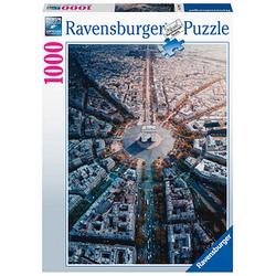 Ravensburger Paris von Oben Puzzle 1000 Teile