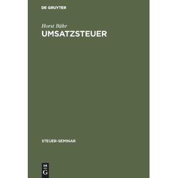 Umsatzsteuer als Buch von Horst Bähr