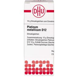 PLATINUM METALLICUM D 12 Globuli 10 g