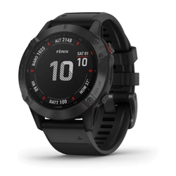 Fenix 6 - Pro Black with Black Band