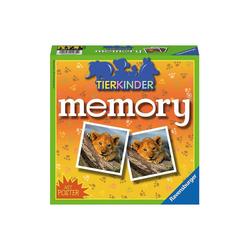 Ravensburger Spiel, memory®, 72 Karten (36 Paare), Tierkinder