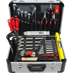 FAMEX Werkzeugkoffer FAMEX 729-89 Werkzeugkoffer mit Werkzeugbestückung Werkzeugkasten Werkzeugkiste Qualitätswerkzeug (1 Stück)