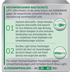 DIADERMINE LIFT+ Tagespflege ULTRA PROTECT Tagescreme mit Blue-Light Schutz 50ML