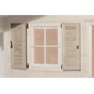 Fensterladen 2-Seitig für Fenster 69 x 79
