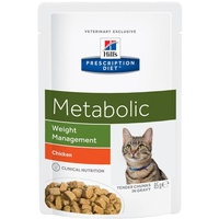 Hill's Prescription Diet Feline Metabolic Gewichtabnahme Huhn 12 x 85 g