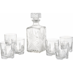 van Well Whiskyglas Selecta (7-tlg), aus hochwertigem Glas