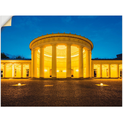 Artland Wandbild Elisenbrunnen Aachen, Gebäude (1 Stück) 60 cm x 45 cm