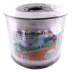 Weidezaun Band »Torero« Breitband · 38mm, 200m, weiß-rot
