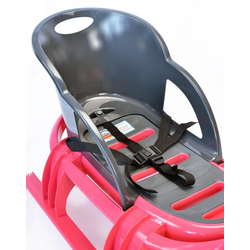 KHW Schlitten-Rückenlehne Snow Tiger Comfort Seat