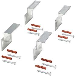 OTTOFOND Wandhalter, (Set, 4-St), für Bade-/Duschwannen und Whirlpools