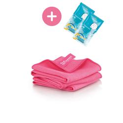 JEMAKO® Trockentuch S klein (40 x 45 cm) pink - 3er-Pack