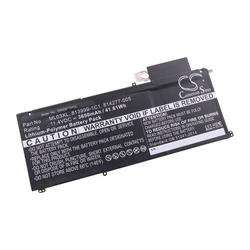 vhbw Li-Polymer Akku 3650mAh (11.4V) schwarz passend für Laptop Notebook HP Spectre X2 12