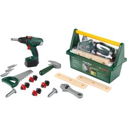 Klein Spielwerkzeugkoffer BOSCH Werkzeug Box mit Akkuschrauber