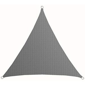 AMANKA UV Sonnensegel - 2x2x2 m HDPE Dreieck - Sonnenschutz Plane Überdachung Balkon Garten Grau